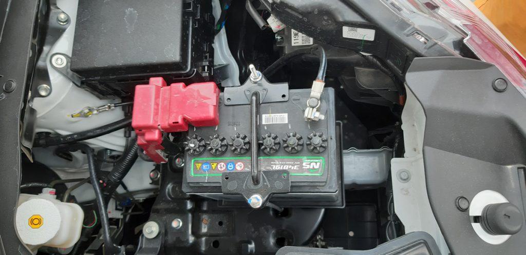 Bình ắc quy Mitsubishi Xpander