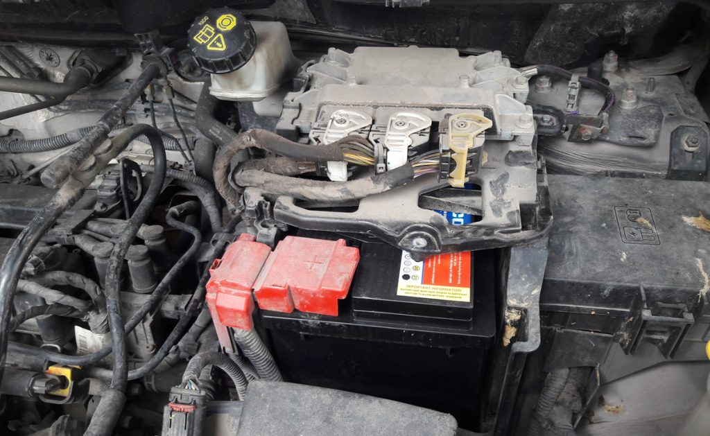 Bình ắc quy Ford Ecosport 2014