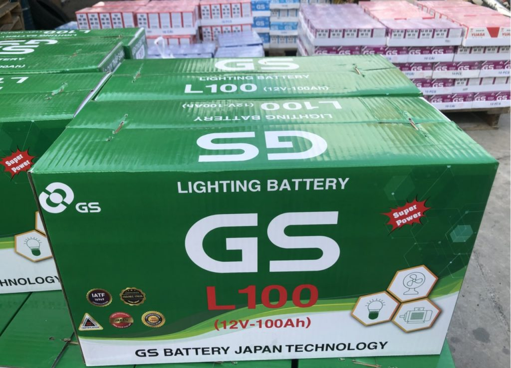 Ắc quy GS L100