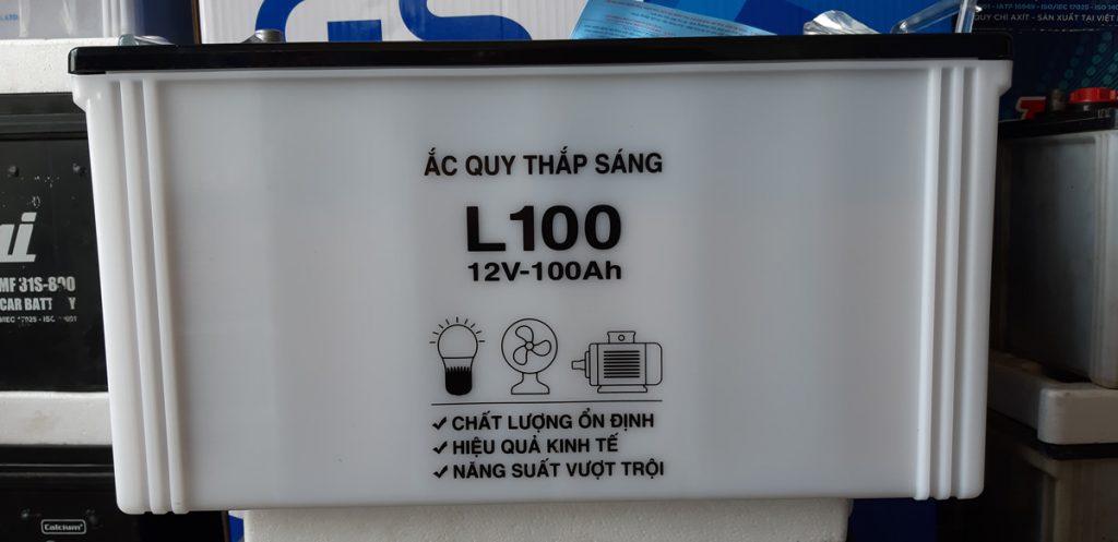 Bình ắc quy L100