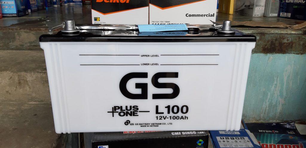 Bình ắc quy gs L100