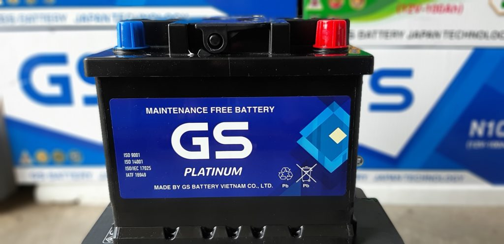 Bình ắc quy GS Din45L