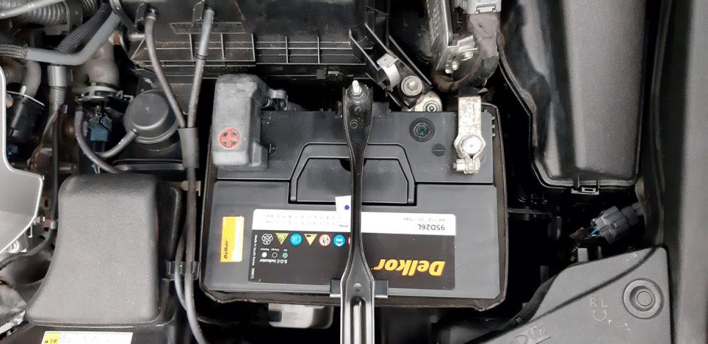 Thay bình ắc quy Lexus ES 350