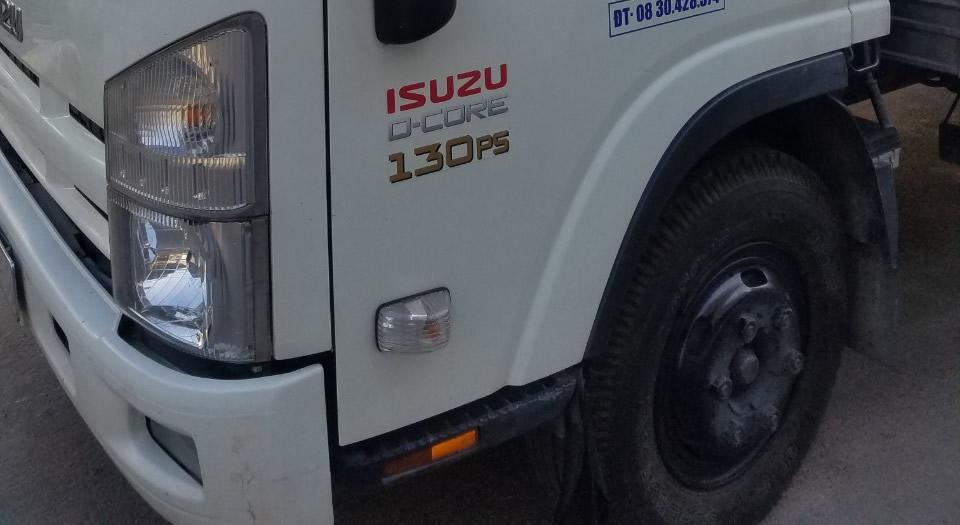 ắc quy xe tải isuzu d-core 130ps