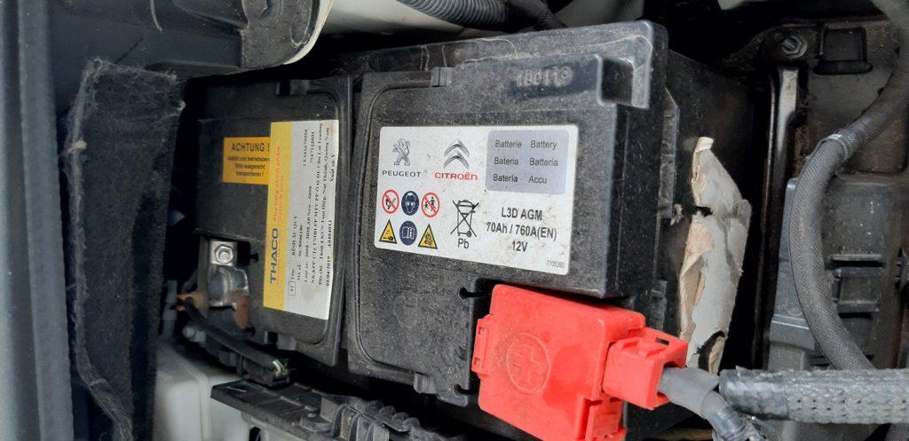 Thông số bình ắc quy theo xe Peugeot 3008