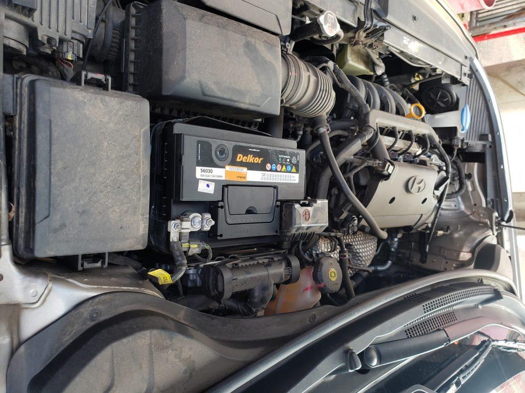 Bình ắc quy xe Hyundai Elantra
